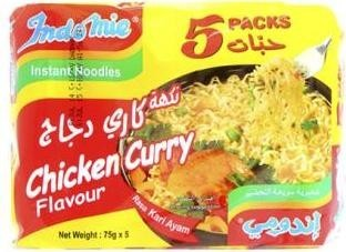 Indomie Noodles Chicken Curry 5 packs