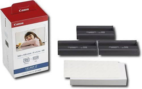 Canon Color Ink Paper Set, KP-108IN for Selphy CP - MarkeetEx