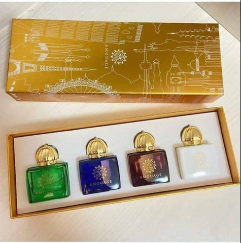 AMOUAGE WOMEN'S MINIATURES SET 4X7.5 ML - MarkeetEx