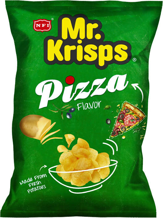 MR KRISPS PIZZA CHIPS 80 GM - MarkeetEx