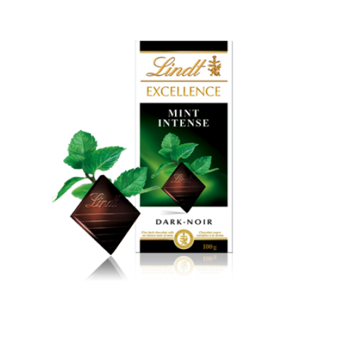 Dark Chocolate Mint Lindt Exellence 100gm - MarkeetEx
