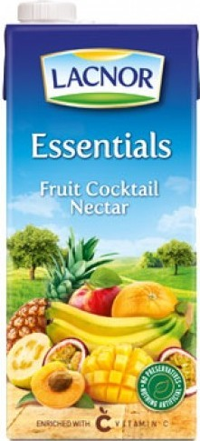 Essentials Cocktail Juice Lacnor 1Ltr - عصير  فواكه مشكلة لاكنور