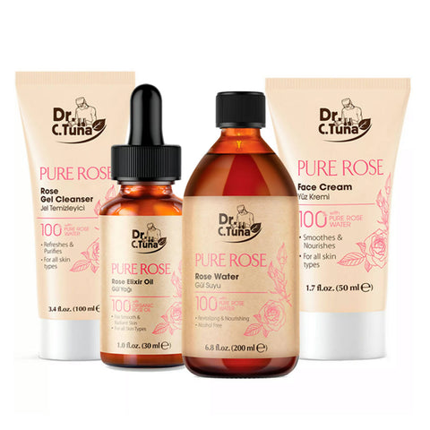 Dr. C. Tuna Pure Rose Water Skin Care (Set)