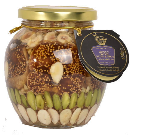 HONEY WITH NUTS AND FIGS