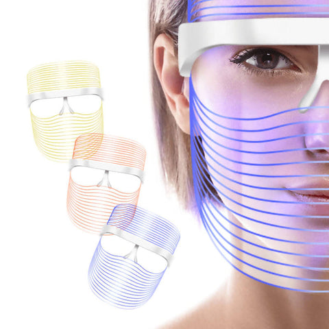 3 Color LED Light Shield Mask