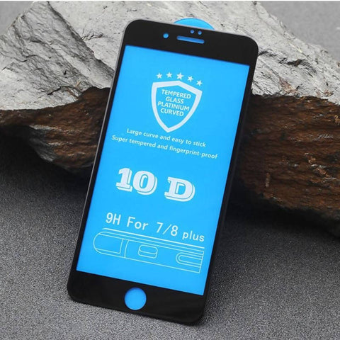 Curve Glass Screen Protector 10D 9H IOS 7Plus
