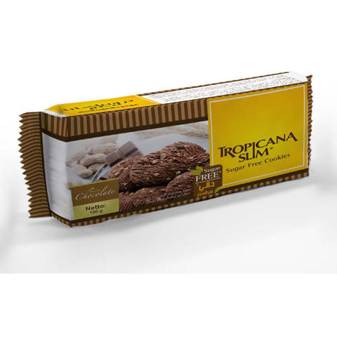 Tropicana Slim Sugar Free Cookies Chocolate 100g