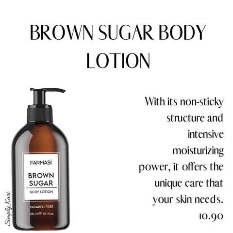 BROWN SUGAR BODY LOTION 10.1 fl. oz. 300 ML - MarkeetEx