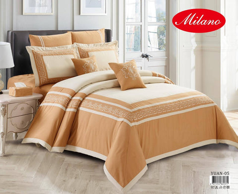 Turkish Comforter King Size 11PCS SET - طقم شراشف تركية - MarkeetEx