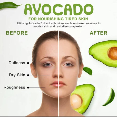 Tony Moly: I'm Avocado, Nutrition Beauty Mask 1 Sheet, (21g)