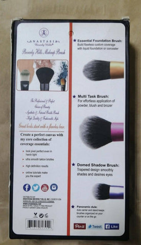 ANASTASIA - Makeup Brush/Copy (3 Pcs Set) - MarkeetEx