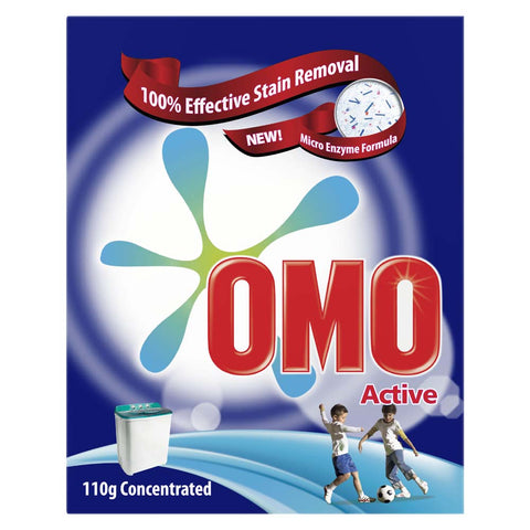 OMO Washing Powder Active 110gm Concentrated-37-C