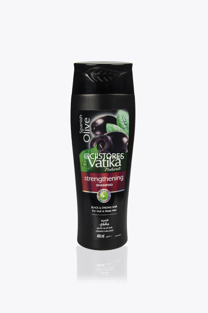 Vatika Strengthening Shampoo – Spanish Black Olive 200ml