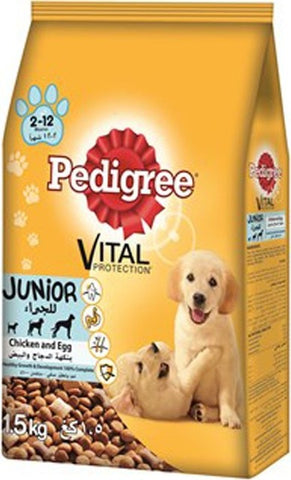 Pedigree Chicken and Egg - Junior 1.5kg-49-B