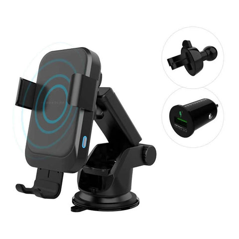 Powerology Car mount 15w wireless charger