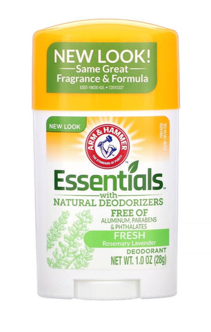 ARM&HAMMER ESSENTIALS WITH NATURAL DEODORIZERS (FRISH ROSEMARY LAVENDER) 28g