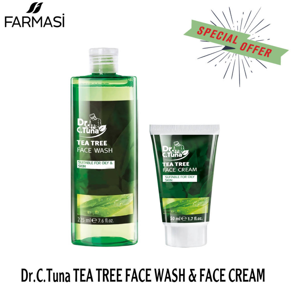 Farmasi Tea Tree Face Wash & Face Cream - MarkeetEx