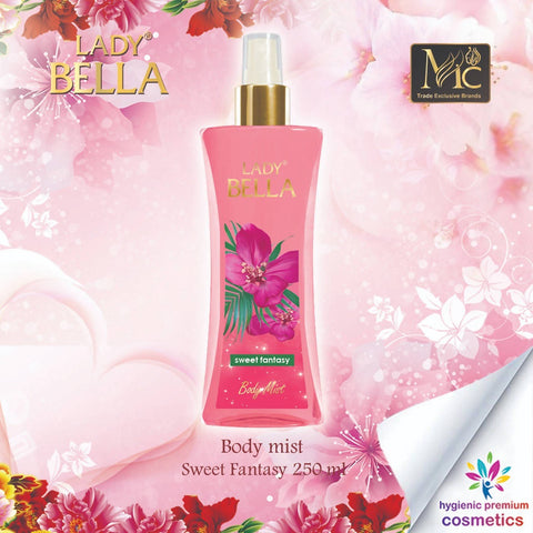 Body Mist Sweet Fantasy 250 ML معطر الجسم - MarkeetEx