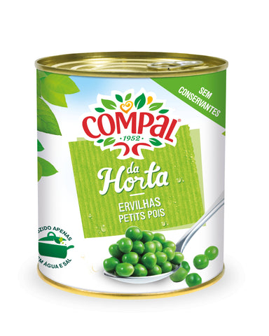 Compal peas Canned Vegetables 845 GM