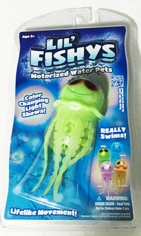 Lil Fishy's Jelly Fish Water Pet Really Swims 3+ AGE - MarkeetEx