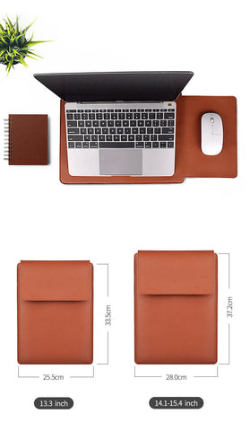 PU laptop cases for Laptop (bag) with stand