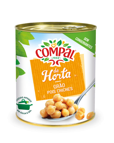 Compal Chick peas Canned Vegetables 845 GM
