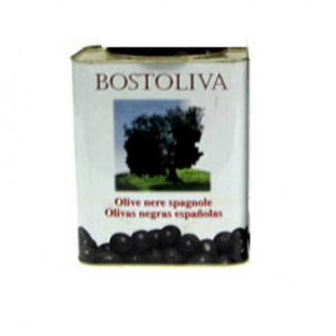 BOSTOLIVA Spanish Whole Black Olives 5Kg