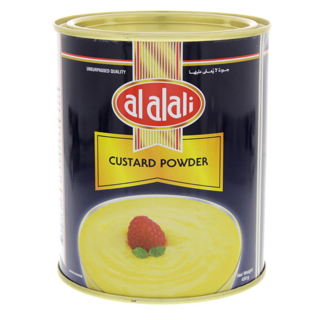 AL ALALI Custard Powder Tin 450gm - MarkeetEx