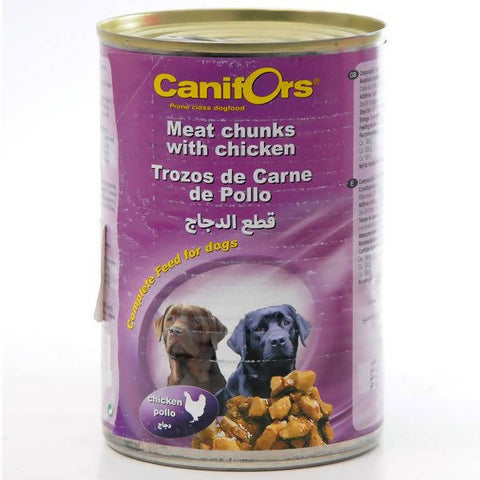 Canifors - Dog : Meat Chunks with Chicken 410 GM - MarkeetEx