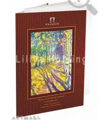 "Folder for gouache and water-color painting""Indian Summer"" A-4, 20 sh., pure-cellulose drawing paper"