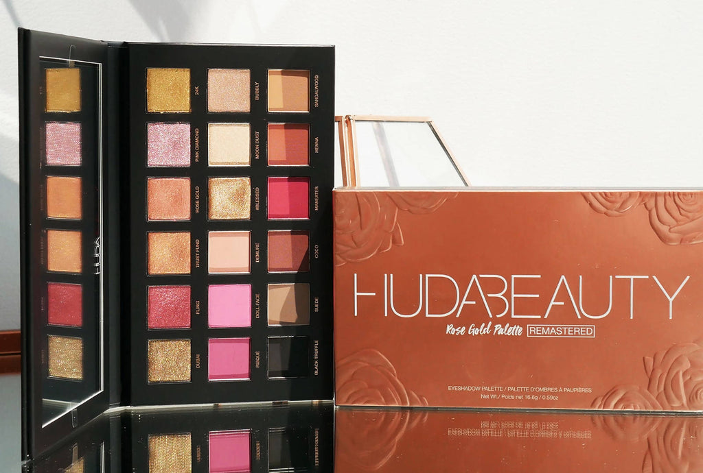Replica Huda beauty - Rose Gold Pallets Remastered Eyeshadow - 25.2gm - MarkeetEx