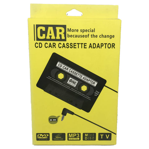 AUX Cassette - CD Car Cassette Adaptor