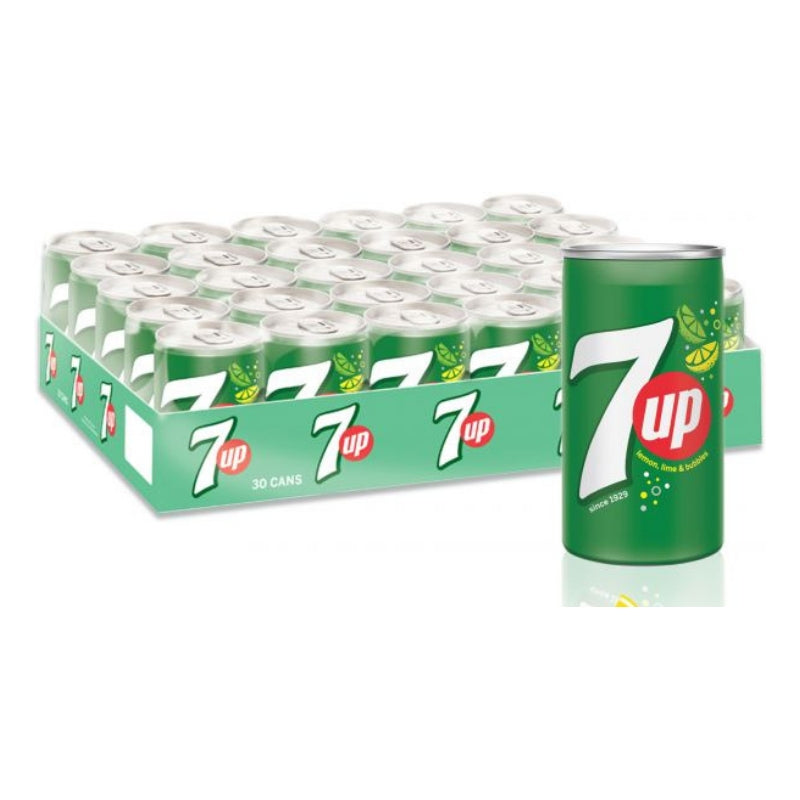 7 UP Can Small 150ml X 30 pcs