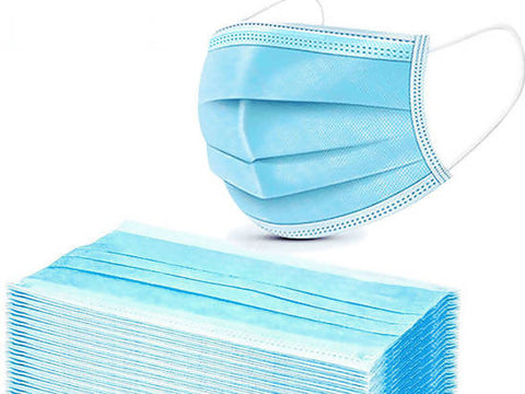 Face Mask 3 Ply Quality Certified 50 Pc - MarkeetEx
