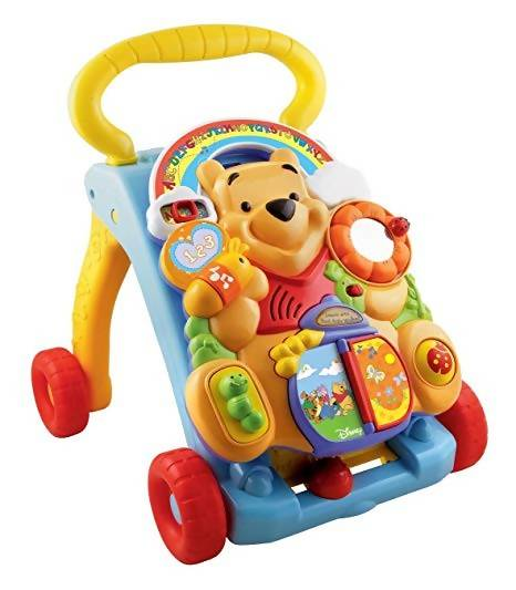 WTP Baby Activity Walker Trolly-2In1