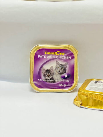 Canifors - Cat : Pate with Chicken 100 GM - MarkeetEx