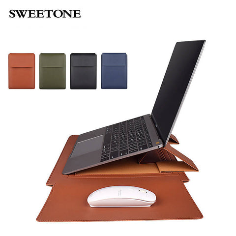 PU laptop cases for Laptop (bag) with stand - MarkeetEx