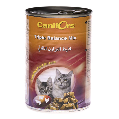 Canifors - Cat : Triple Balance Mix 410 GM - MarkeetEx