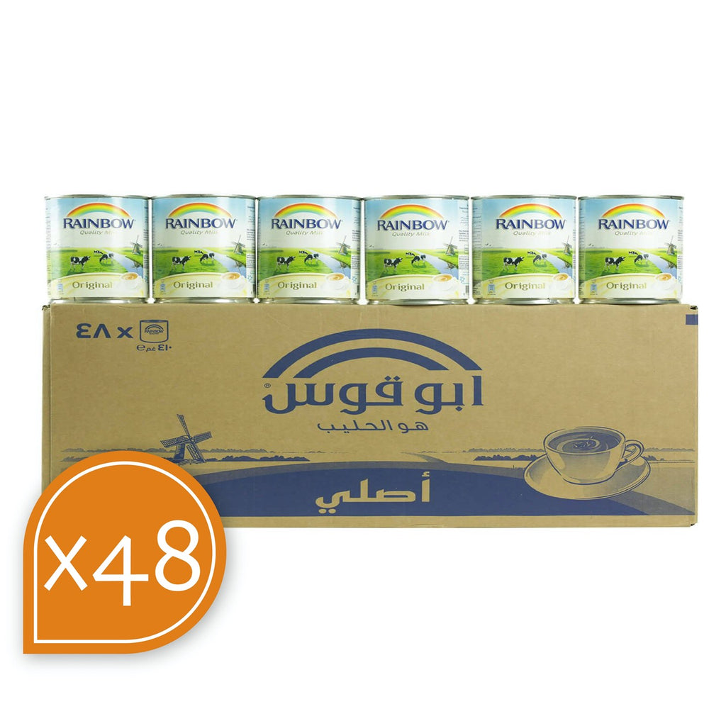 Milk Tea Original Box Rainbow 48X385 ML(410GRM)