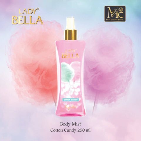 Body Mist Cotton Candy 250 ML معطر الجسم - MarkeetEx