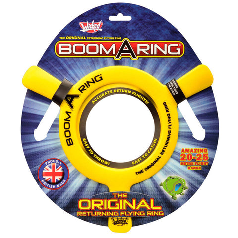 WICKED BOOMA RETURNING FLYING RING RANGE 20M