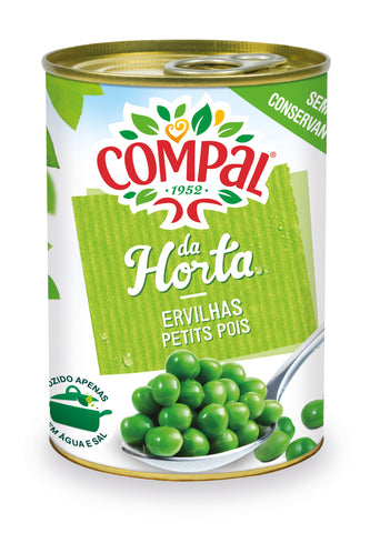 Peas Compal Canned Vegetables 410 GM - MarkeetEx