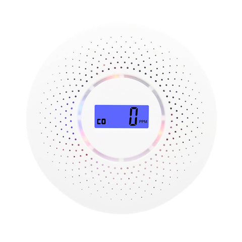 Smart smoke,Gas Leak & Carbon Monoxide detector with LCD display - MarkeetEx