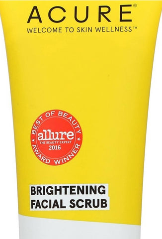 ACURE Brightening Facial Scrub (118 ml) - MarkeetEx