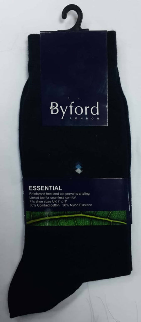 Byford Socks Essential Black