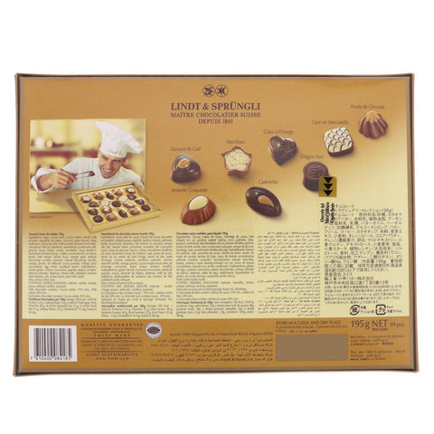 Lindt Swiss Luxury Selection 195gm - MarkeetEx