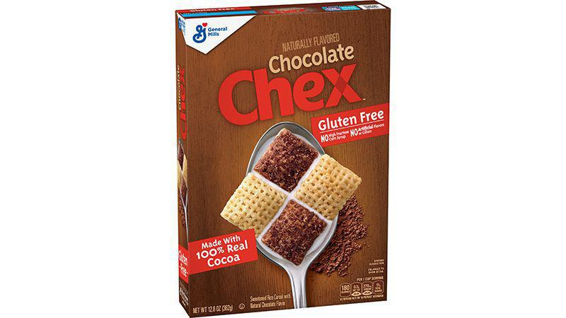 General Mills - Chex, Gluten Free Cereal, Chocolate 12.8 Oz - 362gm
