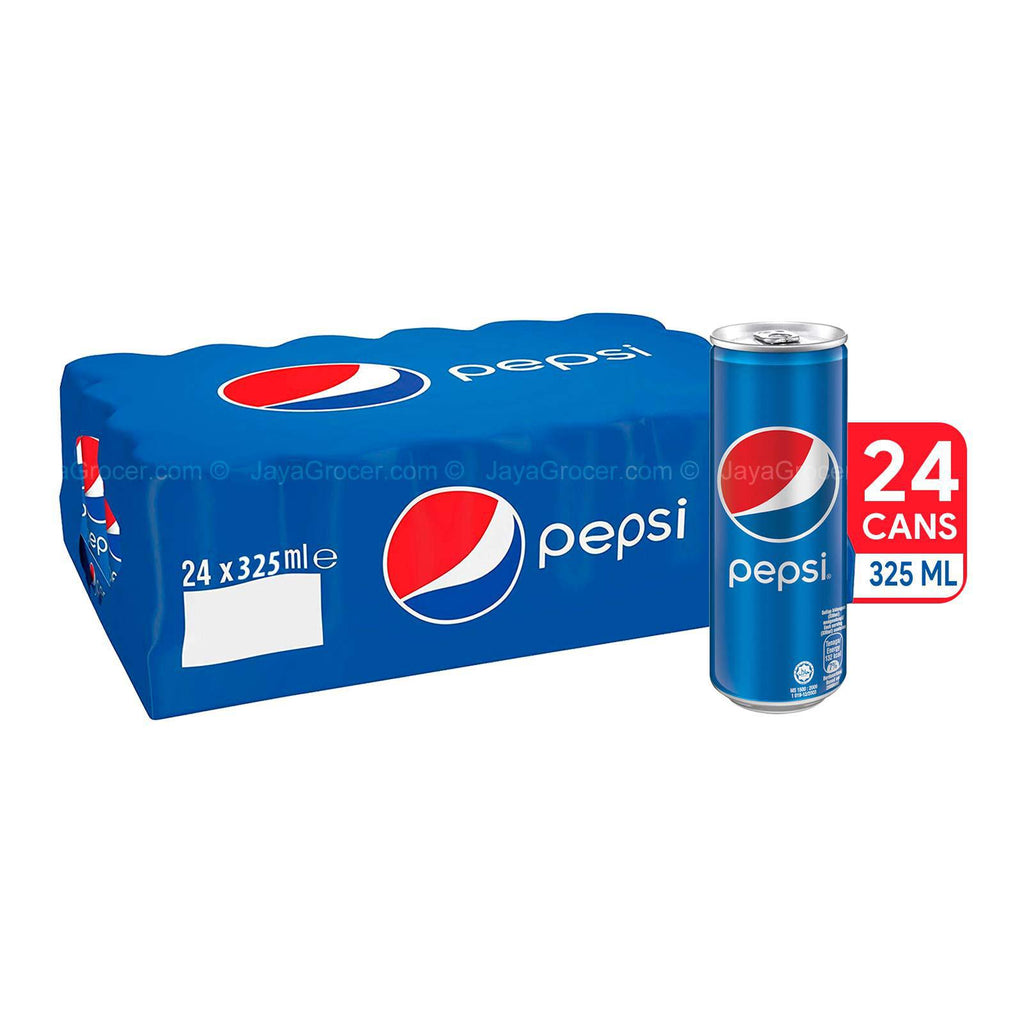 PEPSI CAN 24 PACK 325 ML - MarkeetEx