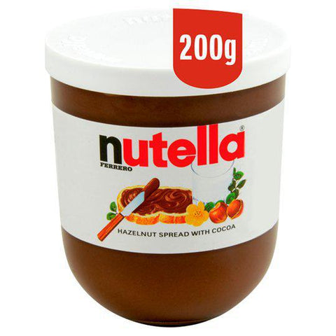 Nutella Hazelnut Chocolate Spread 200gm - نيوتيلا