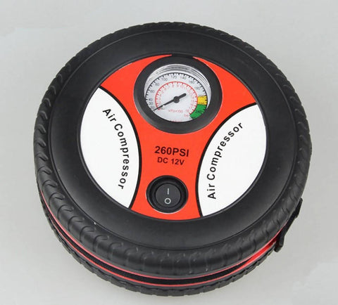 Portable Electric Mini Tire Inflator Compressor 12V - MarkeetEx